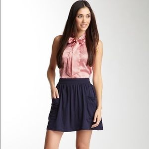 American apparel jersey pocket skirt